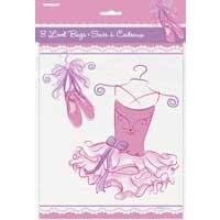 Loot Bags - Pink Ballerina - 8ct.