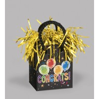 Giftbag Weight - Congrats Fun - (Box of 6)