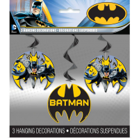 Batman 3 Hanging Decorations