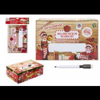 Elf Design Personalised Small Box 21 X 32 X 11CM