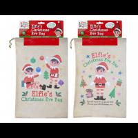 Non Woven Elf Christmas Eve Bag 28.5CM X 43.5CM