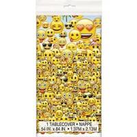 "emoji Plastic Tablecover - 54"" x 84"""