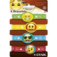 emoji Stretchy Bracelets - 4ct. - 12PK.