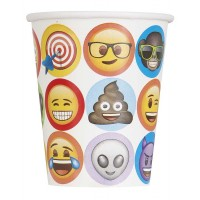 9oz. emoji Cups - 8ct.