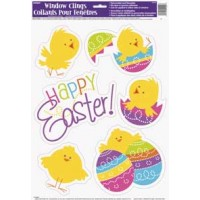 Easter Window Clings Sheet