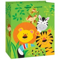 Animal Jungle Gift Gift Bag Medium (12 Gift Bags, €0.49each)