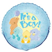 "It's a Boy -  18"" Foil Balloon"
