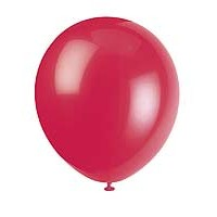 "5"" Latex Balloon - Ruby Red - 72ct."