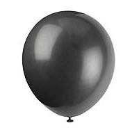 "5"" Latex Balloon - Jet Black - 72ct."