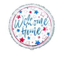 "Welcome Home Stars 18"" Foil Balloon"