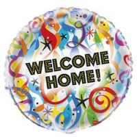 "Bright Welcome Home - 18"" Foil Balloon"