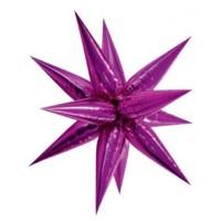 Large Pink 3D Starburst Balloon 100cm.