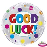 "Good Luck - 18""  Foil Balloon"
