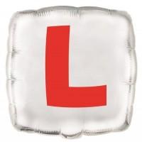 """'L' Learner - 18"""" Foil Balloon"""