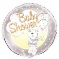 "Baby Shower Bear 18"" Foil Balloon"