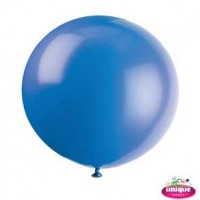 "36"" Evening Blue Premium Balloon - Bag of 6"