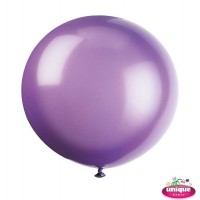 "36"" Midnight Purple Premium Balloon - Bag of 6"