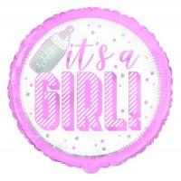 "It's A Girl 18"" Foil Balloon"