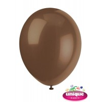 "12"" Chocolate Brown Premium-Quality (Bag of 50)"