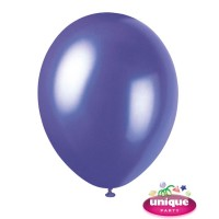 "12"" Electric Purple - Pearlized Premium (Bag of 50)"