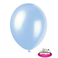 "12"" Sky Blue - Pearlized Premium (Bag of 50)"