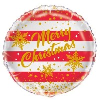 "Merry Christmas - 18"" Foil Balloon"