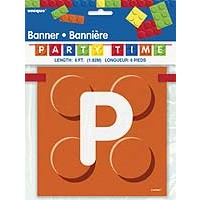 Banner 6ft. - Building Blocks - 1ct. 12PK.