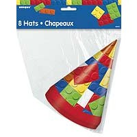 Party Hats - Building Blocks - 8ct. 12PK.
