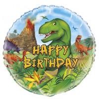 "Dinosaur 18"" foil balloon"