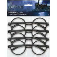 Harry Potter Plastic Glasses 4ct