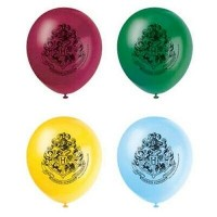 "Happy Potter 12"" Latex Balloons 8ct"
