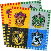 Harry Potter Beverage Napkins 16ct