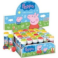 Bubble Tubs Peppa Pig 60ml - 36ct.