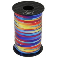 Rainbow Curling Ribbon Metallic 5mm x250yds