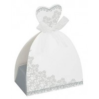 Bride Favour Boxes - Wedding Favours 8CT. 12 PK