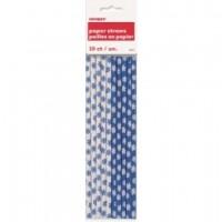 Snowflakes Paper Straws 10CT