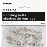 Silver Wedding Bells - Wedding Favours 12 CT.