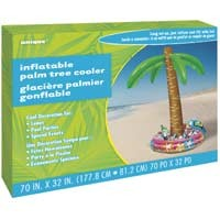 "Inflatable Palm Tree Cooler 70"" H"