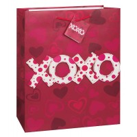 XOXO Cutout - Gift Bag - Small ( 12 gift bags,.39 each)