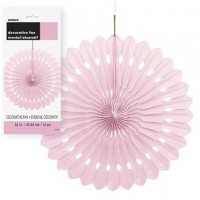 Decorative Fans 16'' 1CT. Lovely Pink