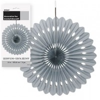 Decorative Fans 16'' 1CT. Silver