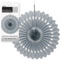 Decorative Fans 16'' 1CT. Silver