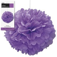 Puff Decor 16'' 1CT. Pretty Purple