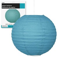 Paper Lanterns 10'' 1CT. Caribbean Teal