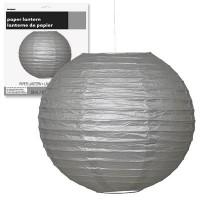 Paper Lanterns 10'' 1CT. Silver