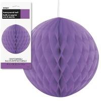 Honeycomb Balls 8'' 1CT. Pretty Purple