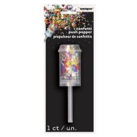 Confetti Push Popper  1ct
