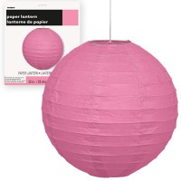 Paper Lanterns 10'' 1CT. Hot Pink