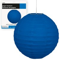 Paper Lanterns 10'' 1CT. Royal Blue