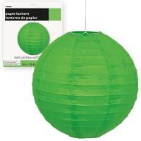 Paper Lanterns 10'' 1CT.  Lime Green